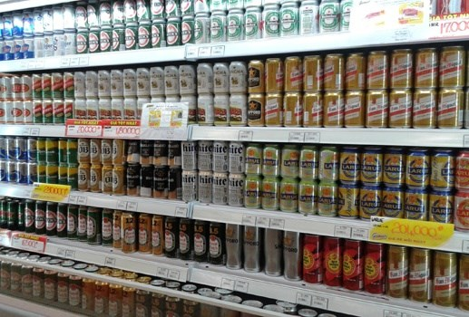 Beer sale drops remarkably ahead of Tet hinh anh 1