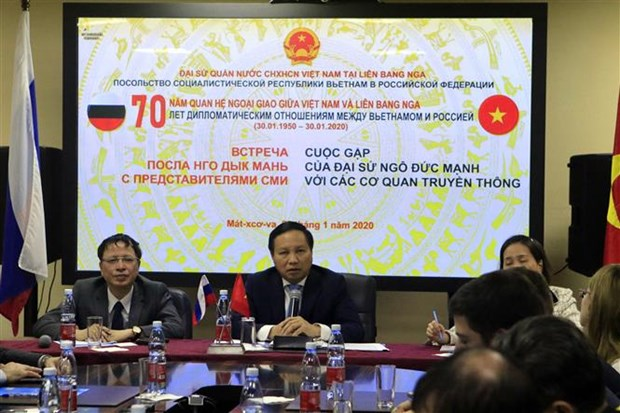 70th anniversary of Vietnam-Russia diplomatic ties marked hinh anh 1