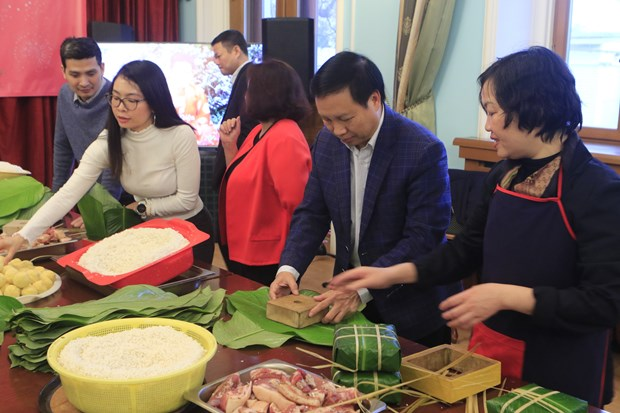 OVs in Russia celebrate traditional Lunar New Year hinh anh 1