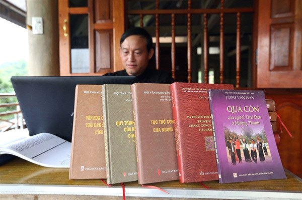 Researcher devotes 20 years to preserving Black Thai culture hinh anh 1