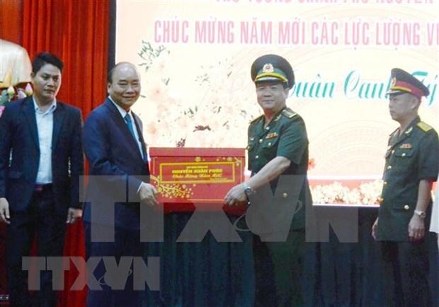 Prime Minister Nguyen Xuan Phuc makes New Year visit to Da Nang hinh anh 1