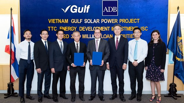 ADB provides loan for 50MW solar power plant in Tay Ninh hinh anh 1