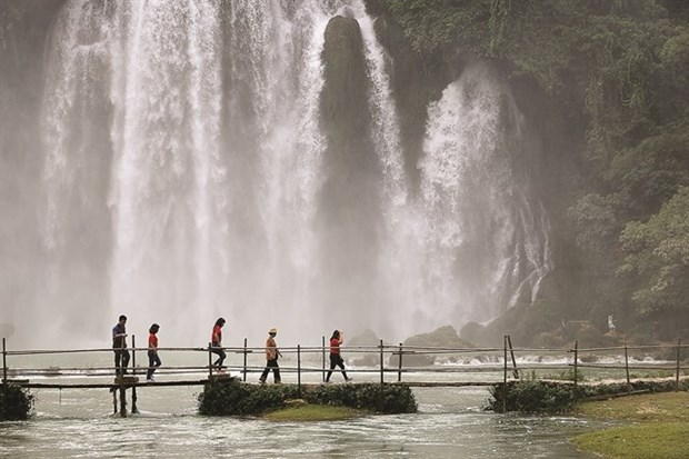Non Nuoc Cao Bang Geopark, a wonderland on Earth hinh anh 1