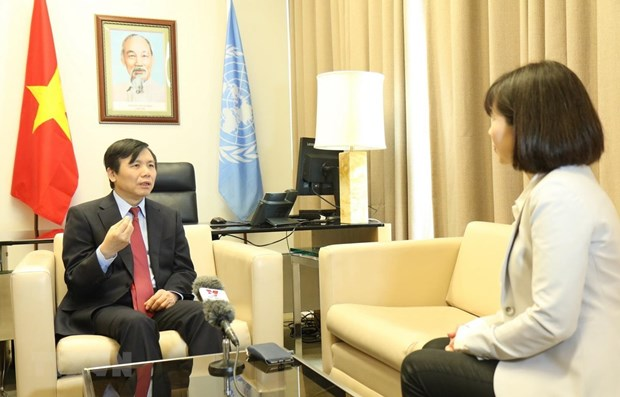 Vietnam achieves targets during UNSC presidency month: Ambassador hinh anh 1