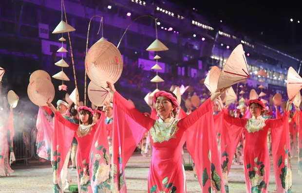 VN art troupe attends Chingay Parade 2020 in Singapore hinh anh 1