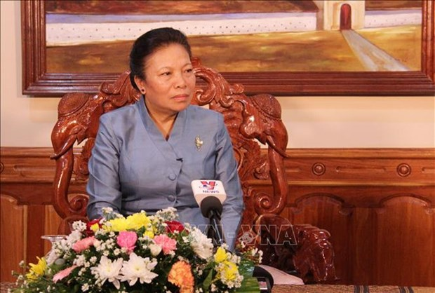 CPV has decisive role in revolution's victories: Lao official hinh anh 1