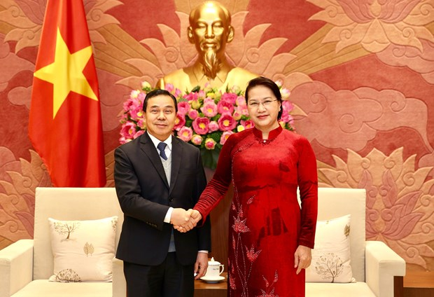 Vietnam, Laos step up legislative cooperation in 2020: Top legislator hinh anh 1