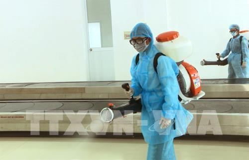 Five tonnes of disinfectant provided to aid coronavirus fight hinh anh 1