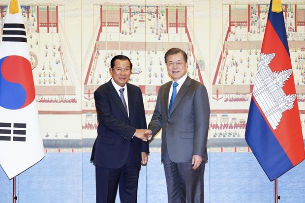 Cambodia, RoK agree to expand bilateral relations hinh anh 1