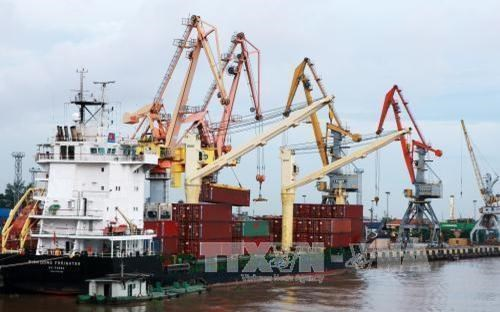 Ships from China to be quarantined before entering Hai Phong hinh anh 1