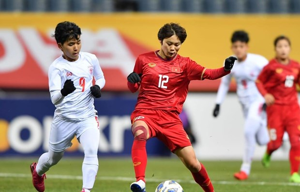 Women's team advance to Tokyo Olympics play-off round hinh anh 1