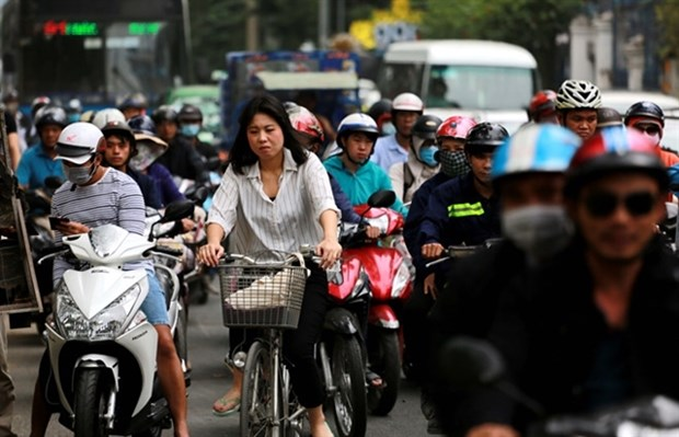 HCM City mulls public bicycle rental service in downtown hinh anh 1
