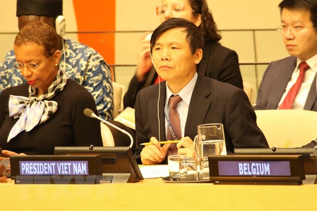 Vietnam backs UNSC-OSCE stronger cooperation hinh anh 1