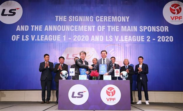 LS Holdings becomes new sponsor of pro football leagues hinh anh 1