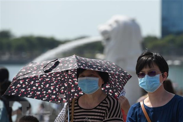 Singapore raises alert for coronavirus outbreak to Orange hinh anh 1