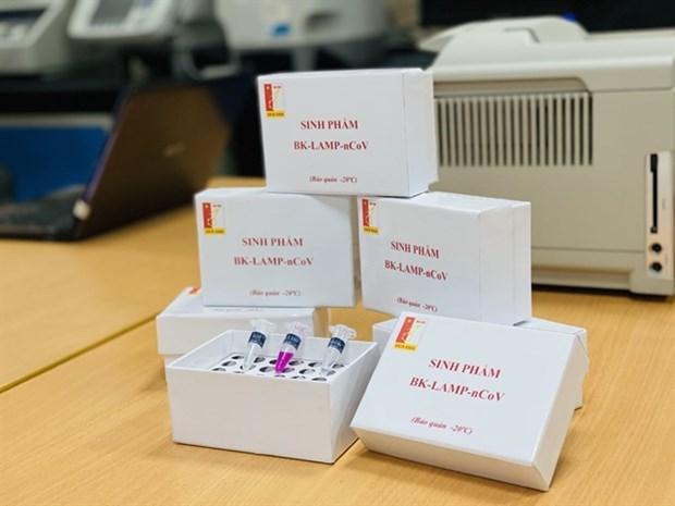 Vietnam successfully develops quick coronavirus test kit in lab environment hinh anh 1