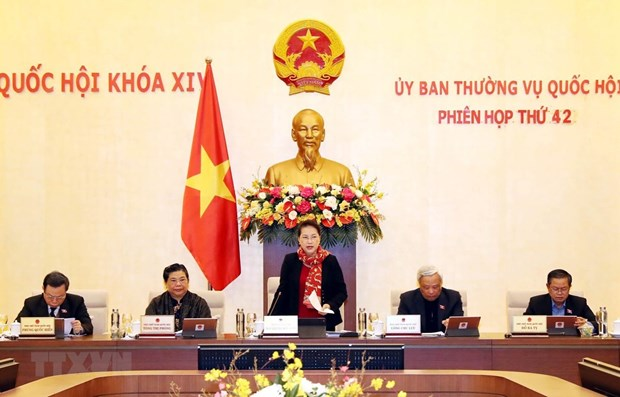 NA Standing Committee convenes 42nd session hinh anh 1