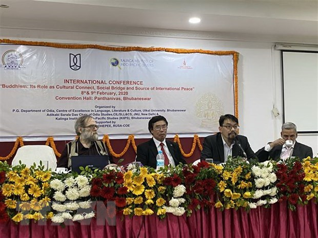 Vietnam attends international Buddhism conference in India hinh anh 1