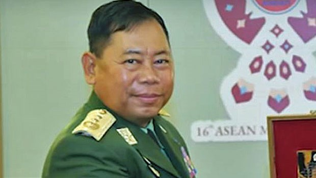 Myanmar gets new home affairs minister hinh anh 1