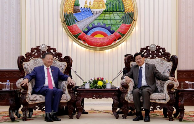 Vietnam, Laos boost security cooperation hinh anh 1