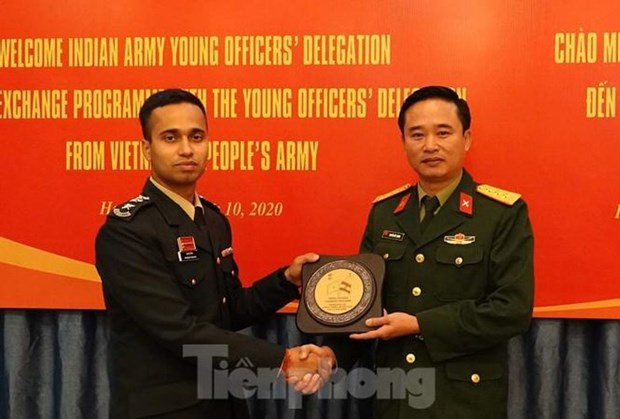 Vietnamese, Indian young officers bolster exchange hinh anh 1