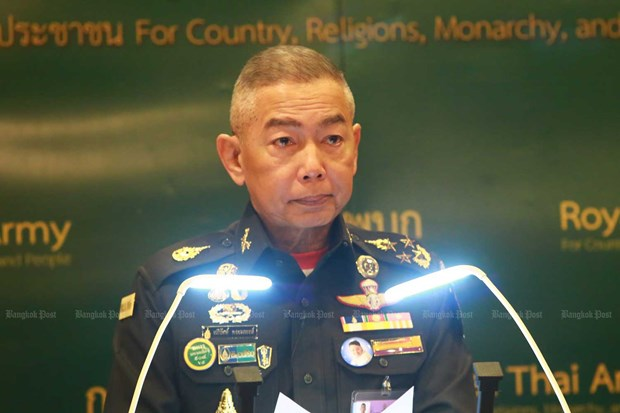 Thai army chief apologises for mass shooting by soldier hinh anh 1