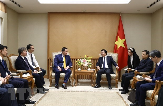 Deputy PM hosts investors interested in LNG power development in Vietnam hinh anh 1