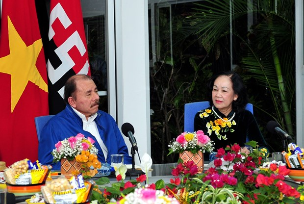 Ruling parties of Vietnam, Nicaragua enhance ties hinh anh 1