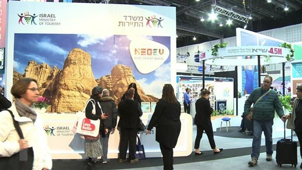 Vietnamese firms join international tourism fair in Israel hinh anh 1