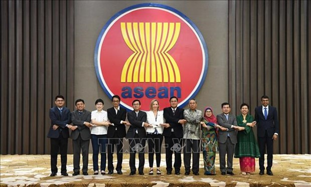 ASEAN-US Joint Cooperation Committee convenes 11th meeting hinh anh 1