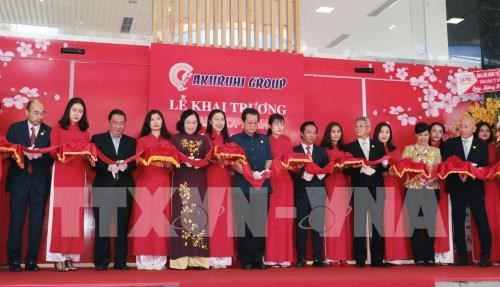 First high-class Japanese goods trade centre inaugurated hinh anh 1
