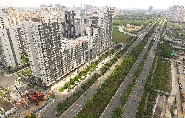 HCM City strengthens COVID-19 prevention in apartment buildings hinh anh 1