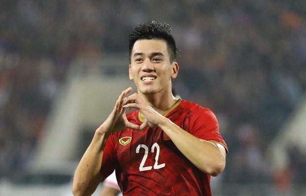 FIFA praises Vietnamese striker Linh hinh anh 1