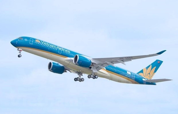 Vietnam Airlines conducts three flights to take Chinese citizens home hinh anh 1