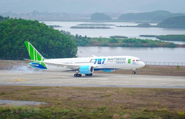 Bamboo Airways to launch new domestic, int'l flights in February hinh anh 1