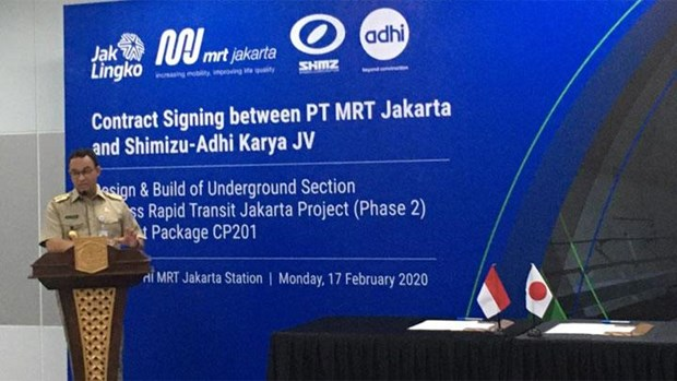 Jakarta to start work on second phase of MRT project hinh anh 1
