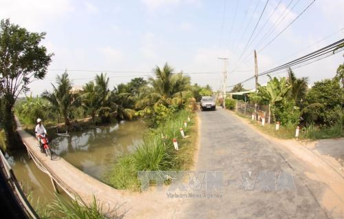 Long An's district recognised as new-style rural area hinh anh 1
