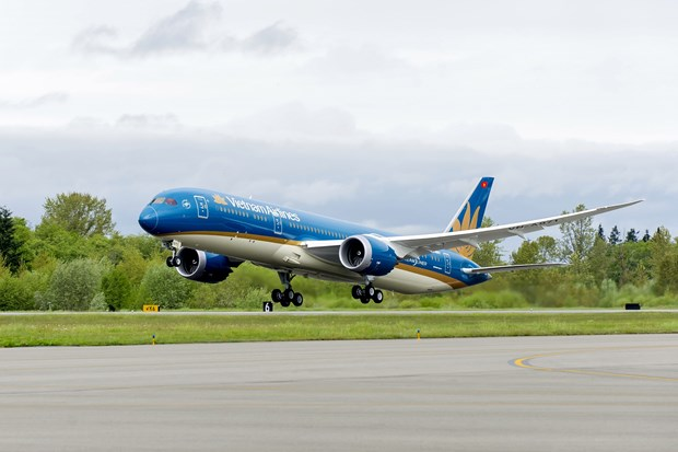 Vietnam Airlines uses wide-bodied aircraft on Hanoi-Ho Chi Minh City route hinh anh 1
