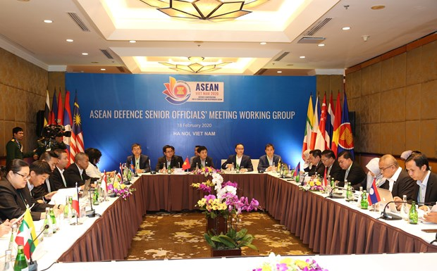 ASEAN Defence Senior Officials' Meeting Working Group meets in Hanoi hinh anh 1