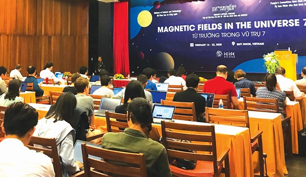 """Binh Dinh hosts """"Magnetic Fields in the Universe"""" conference hinh anh 1"""