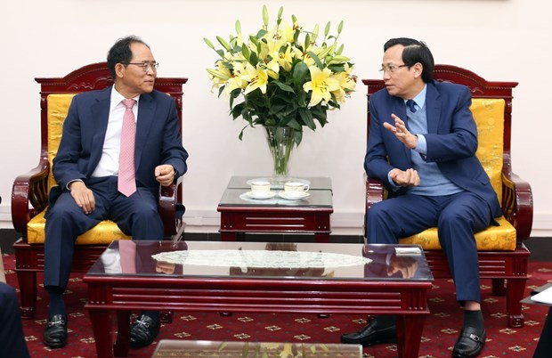 Vietnam, RoK to boost ties in vocational education hinh anh 1