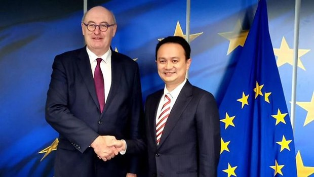 Indonesia, EU strive to complete negotiations on economic deal in 2020 hinh anh 1