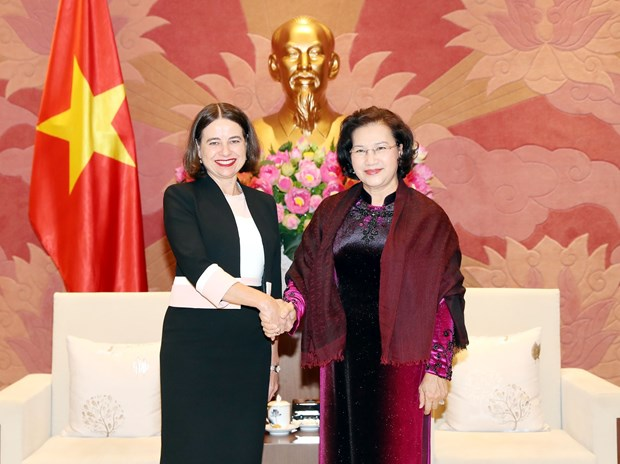 New Australian ambassador asked to foster exchange of delegations hinh anh 1