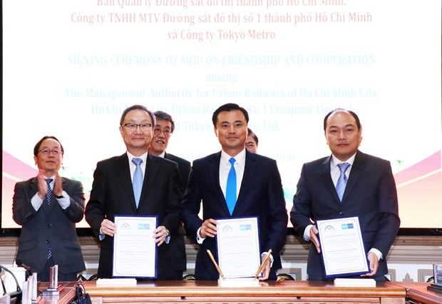 Japan supports HCM City to develop urban infrastructure hinh anh 1