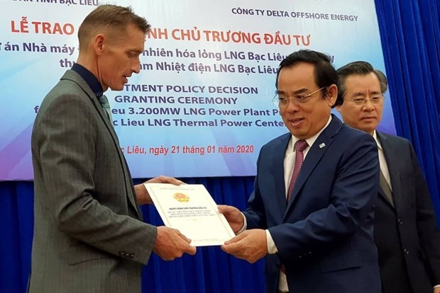 Bac Lieu hopes 4-billion-USD LNG project will attract more FDI hinh anh 1