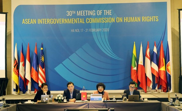 Vietnam chairs AICHR's 30th meeting in Hanoi hinh anh 1