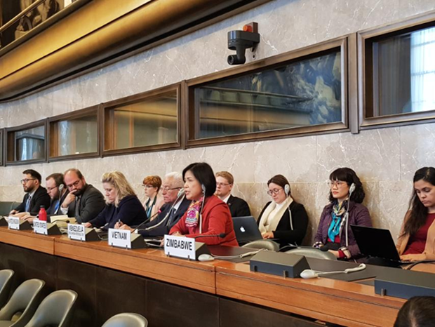 Vietnam attends disarmament conference in Geneva hinh anh 1