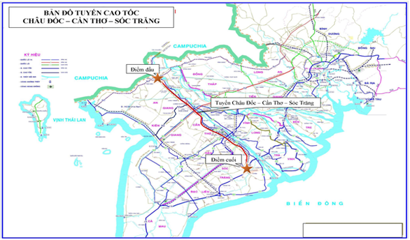 Two new expressways to be built in Mekong Delta hinh anh 1