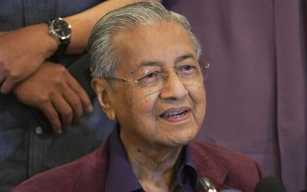Malaysian King accepts PM Mahathir's resignation hinh anh 1