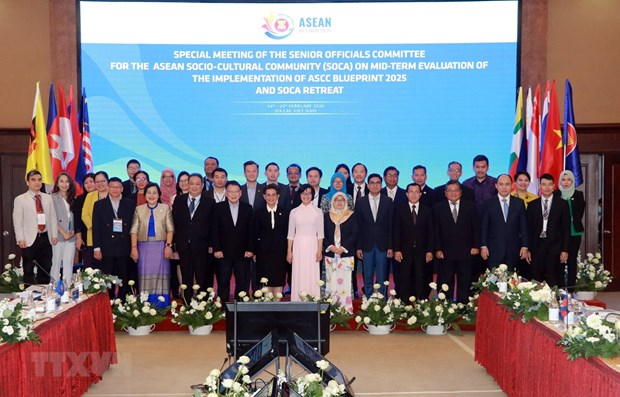 Vietnam chairs SOM for ASEAN Socio-Cultural Community hinh anh 1